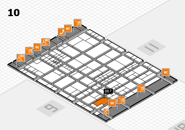 interpack 2017 hall map (Hall 10): stand B87