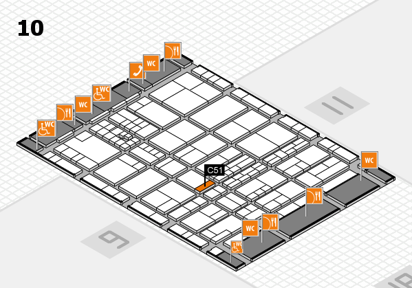 interpack 2017 hall map (Hall 10): stand C51