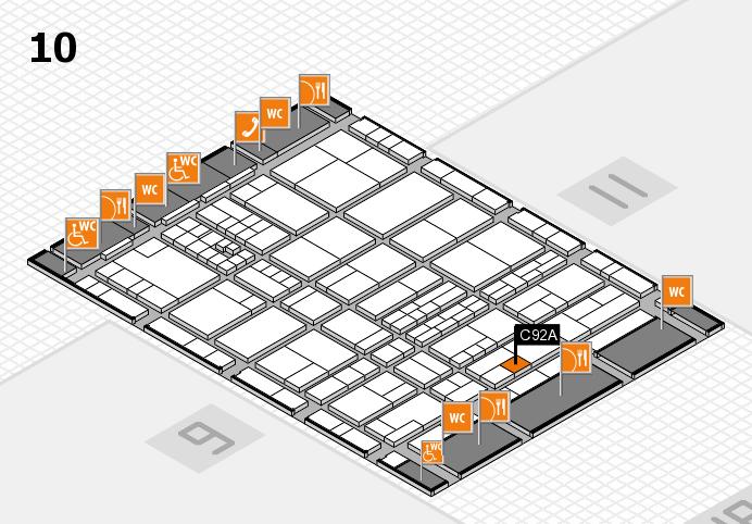 interpack 2017 Hallenplan (Halle 10): Stand C92A
