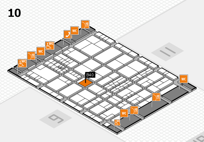 interpack 2017 hall map (Hall 10): stand B40.C39