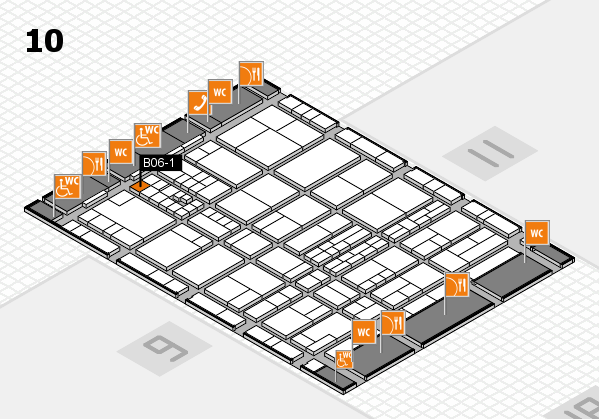 interpack 2017 hall map (Hall 10): stand B06-1
