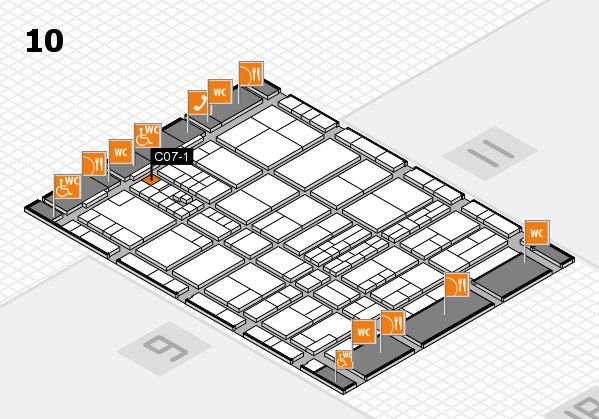 interpack 2017 hall map (Hall 10): stand C07-1