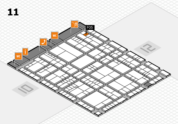 interpack 2017 hall map (Hall 11): stand F05