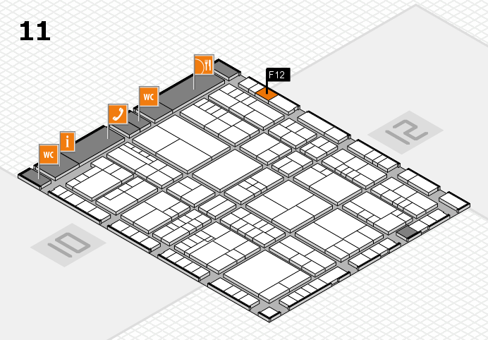interpack 2017 hall map (Hall 11): stand F12