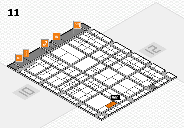 interpack 2017 hall map (Hall 11): stand B69