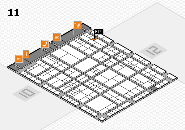 interpack 2017 hall map (Hall 11): stand F17