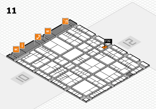 interpack 2017 hall map (Hall 11): stand F39