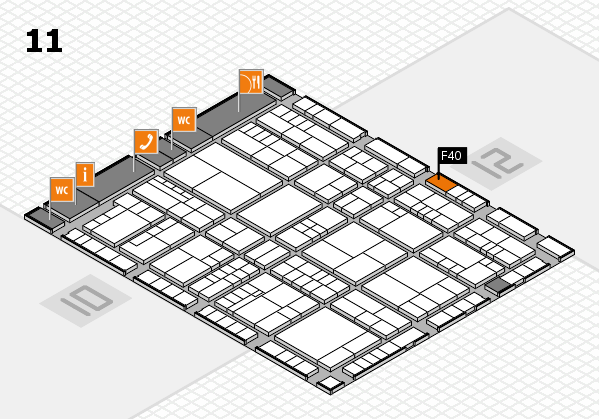 interpack 2017 hall map (Hall 11): stand F40
