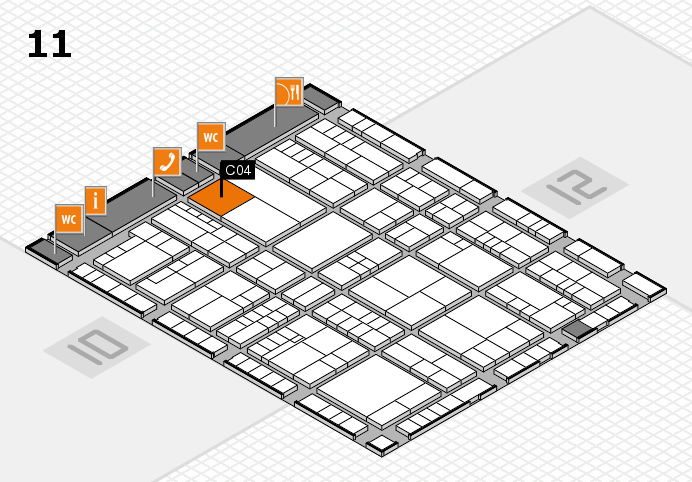 interpack 2017 hall map (Hall 11): stand C04