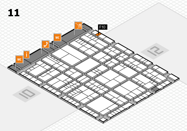 interpack 2017 hall map (Hall 11): stand F10