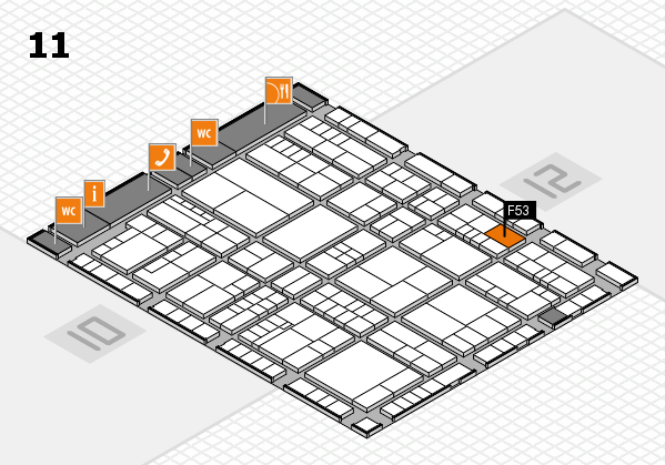interpack 2017 hall map (Hall 11): stand F53