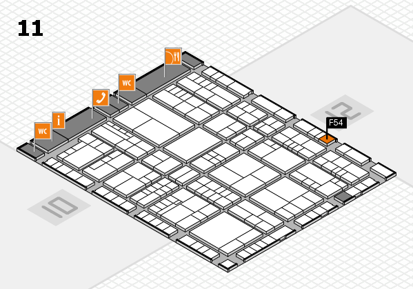 interpack 2017 hall map (Hall 11): stand F54
