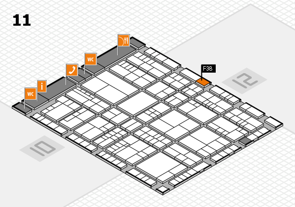 interpack 2017 hall map (Hall 11): stand F38