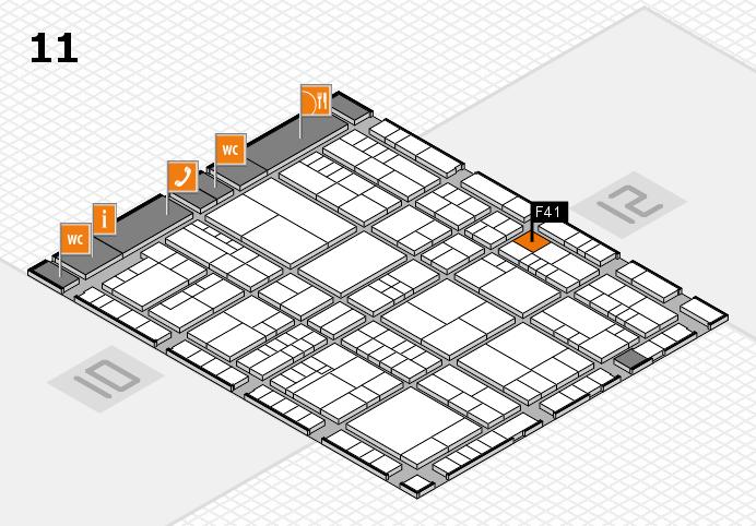 interpack 2017 Hallenplan (Halle 11): Stand F41
