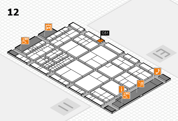 interpack 2017 hall map (Hall 12): stand C51