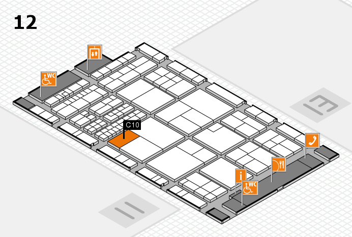 interpack 2017 hall map (Hall 12): stand C10