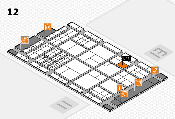 interpack 2017 hall map (Hall 12): stand E41