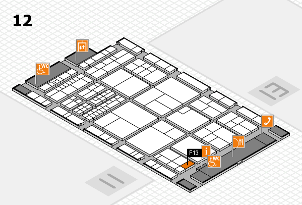 interpack 2017 hall map (Hall 12): stand F13