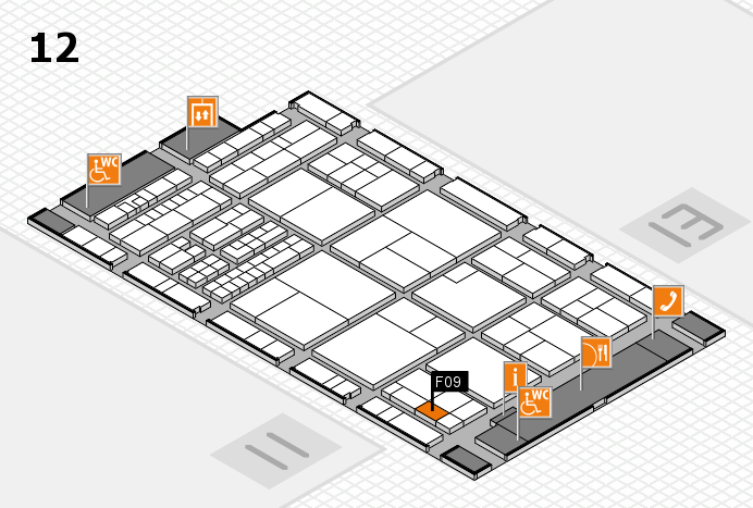 interpack 2017 hall map (Hall 12): stand F09