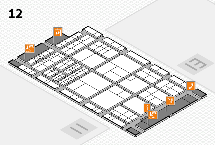interpack 2017 hall map (Hall 12): stand B50