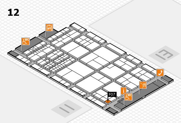 interpack 2017 hall map (Hall 12): stand F07