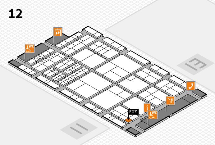 interpack 2017 Hallenplan (Halle 12): Stand F07