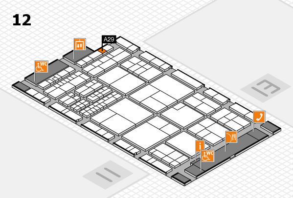 interpack 2017 hall map (Hall 12): stand A29