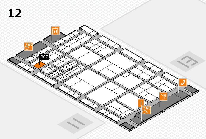 interpack 2017 hall map (Hall 12): stand B07