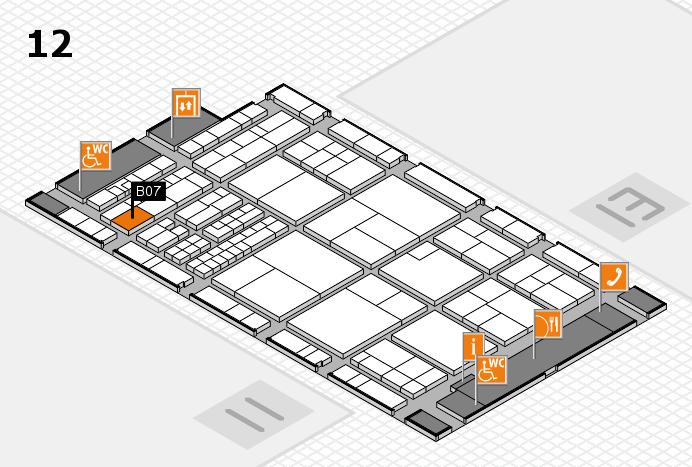interpack 2017 Hallenplan (Halle 12): Stand B07