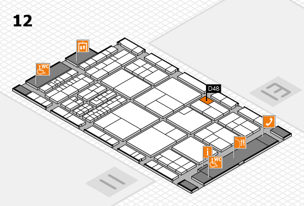 interpack 2017 hall map (Hall 12): stand D48