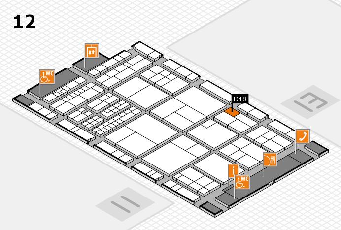 interpack 2017 Hallenplan (Halle 12): Stand D48