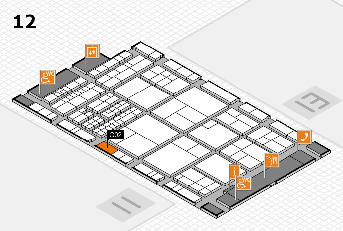 interpack 2017 hall map (Hall 12): stand C02