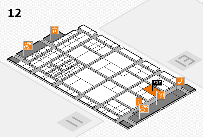interpack 2017 hall map (Hall 12): stand F37