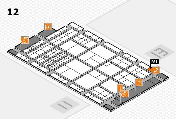 interpack 2017 Hallenplan (Halle 12): Stand F51