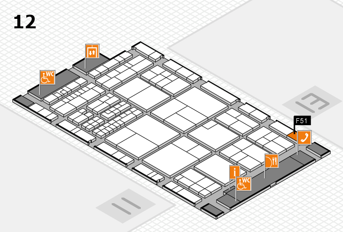 interpack 2017 hall map (Hall 12): stand F51