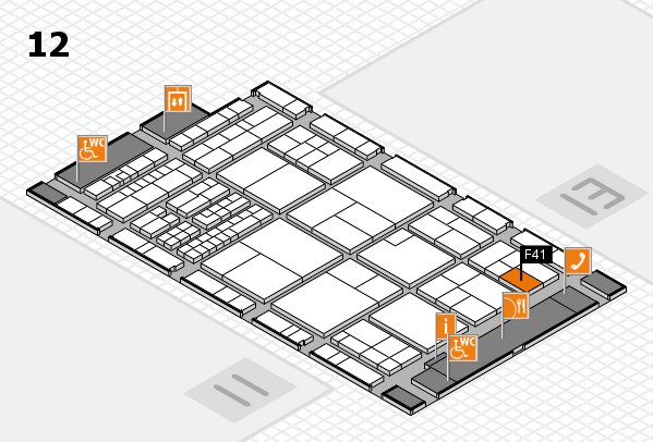 interpack 2017 hall map (Hall 12): stand F41