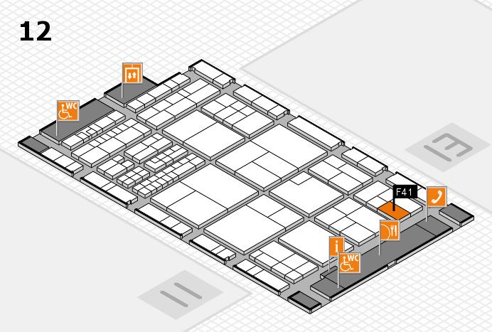 interpack 2017 Hallenplan (Halle 12): Stand F41
