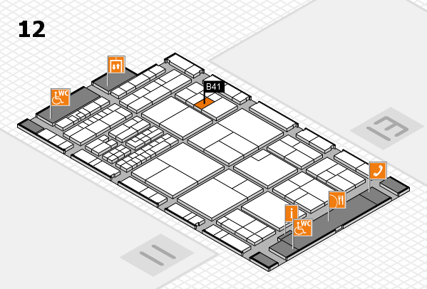 interpack 2017 hall map (Hall 12): stand B41