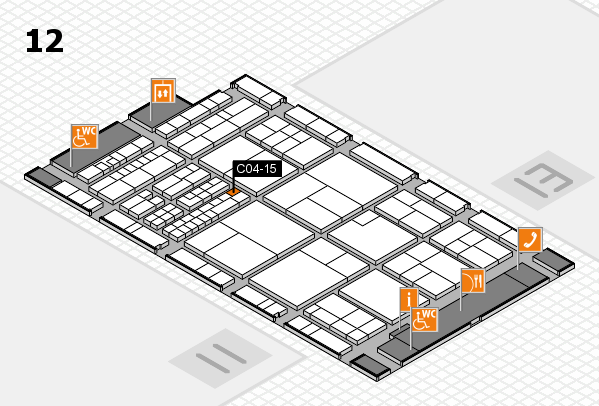 interpack 2017 hall map (Hall 12): stand C04-15