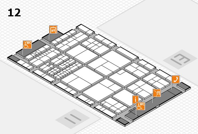 interpack 2017 Hallenplan (Halle 12): Stand A38