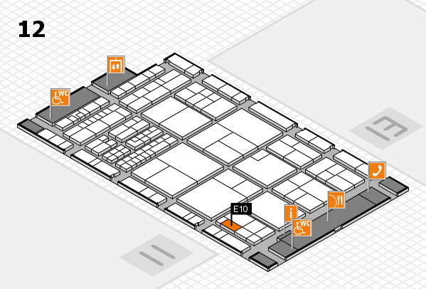 interpack 2017 hall map (Hall 12): stand E10