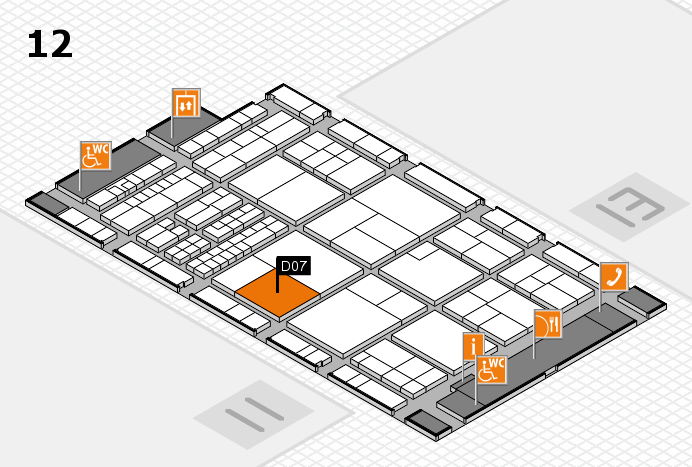 interpack 2017 hall map (Hall 12): stand D07