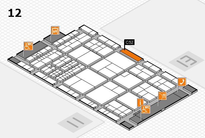 interpack 2017 Hallenplan (Halle 12): Stand C52