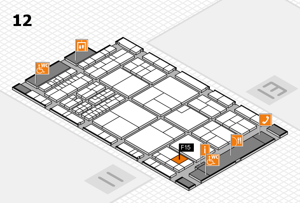 interpack 2017 hall map (Hall 12): stand F15