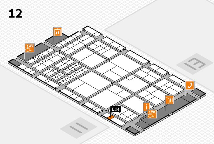interpack 2017 Hallenplan (Halle 12): Stand E04