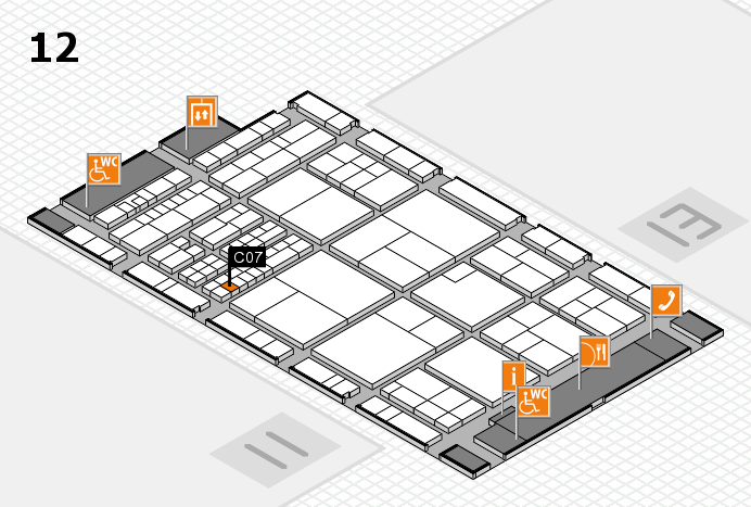 interpack 2017 hall map (Hall 12): stand C07