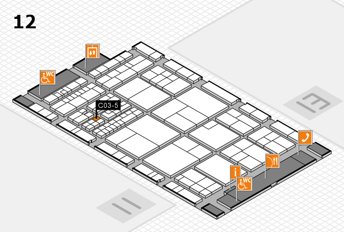interpack 2017 hall map (Hall 12): stand C03-5