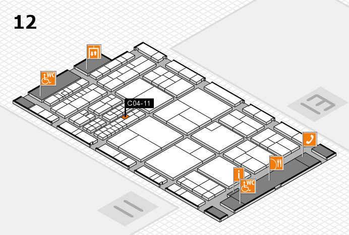 interpack 2017 hall map (Hall 12): stand C04-11