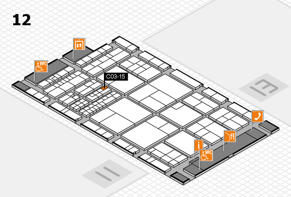 interpack 2017 hall map (Hall 12): stand C03-15