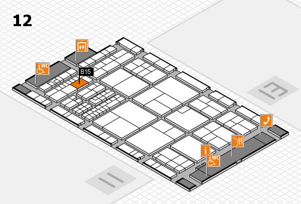 interpack 2017 Hallenplan (Halle 12): Stand B15